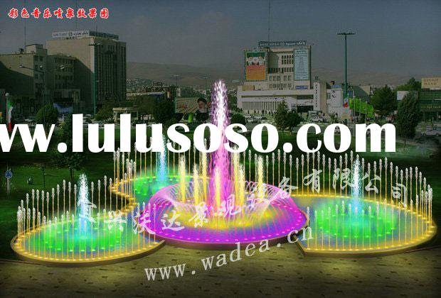 musical programmed-control fountain water fountain outdoor fountain square fountain indoor fountain