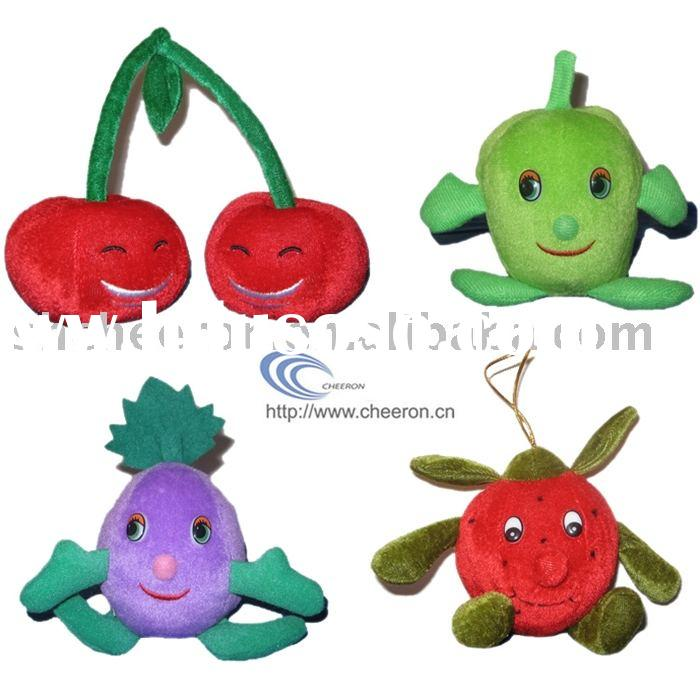 plush and stuffed fruit toy,plush and stuffed vegetable toy