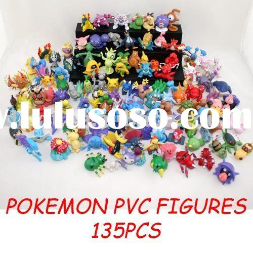 pokemon PVC anime figure collectable figure set (135pcs)c1133