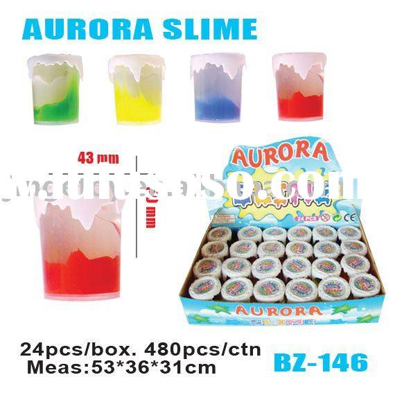 sell Crystal Aurora novelty putty slime toy