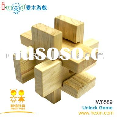wooden game-IQ Puzzle ( IQ Puzzle,puzzle game,wooden game)