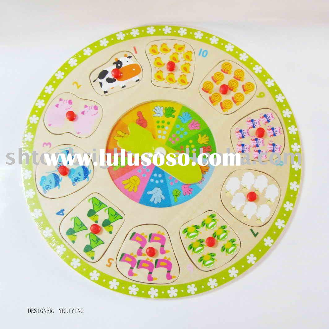wooden puzzle toys/educational toy