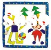wooden toys magnet puzzle,educational toy
