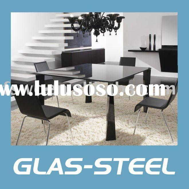 2011Modern Glass Square Dining Table WC-BT257