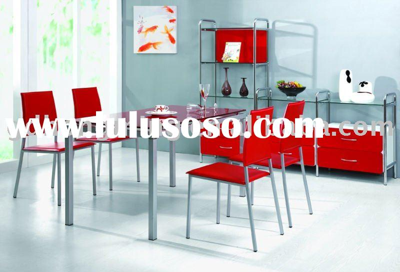 2011 Contemporary Tempered glass dining table