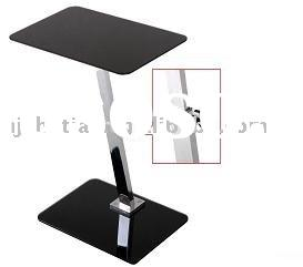 2011!!  Fashion  simplicity  adjustable glass laptop table