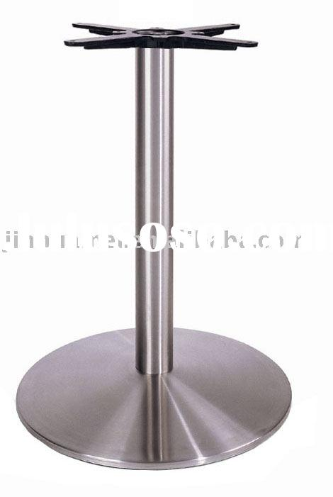 307SS    TRUMPET round INOX  DINING Table Base