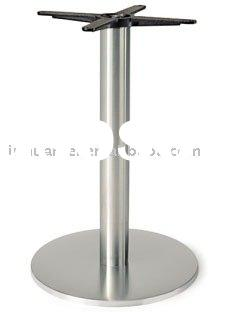 340-43SS  ROUND INOX  DINING Table Base