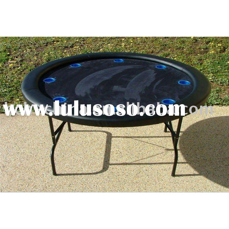 52-inch Round Foldable Casino Poker Table