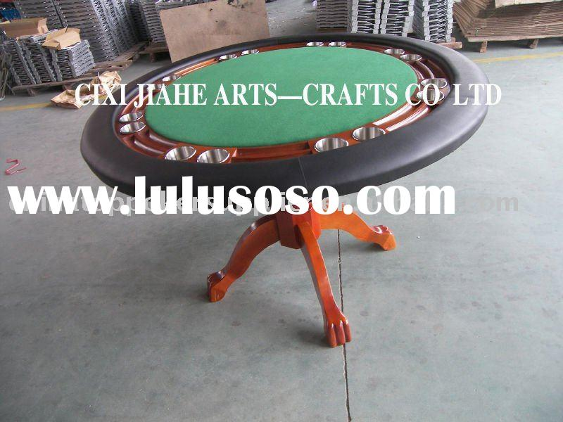 60 INCH ROUND POKER TABLE