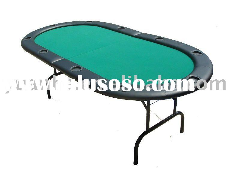 7ft Texas Holdem Folding Poker Table
