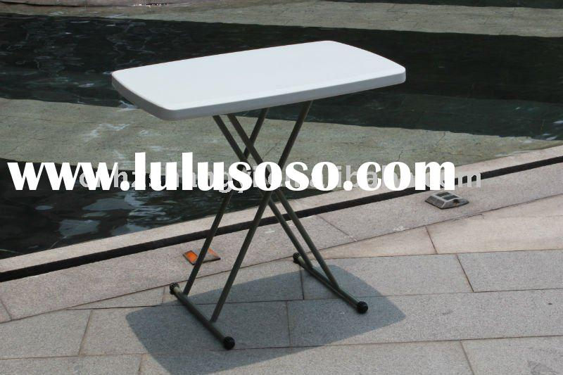 Adjustable  laptop  folding table and chairs