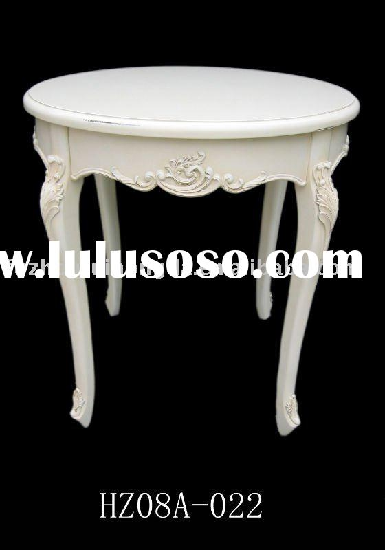Antique white ROUND TABLE
