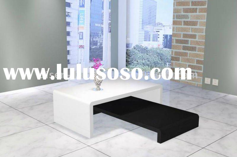 Black to white wooden coffe table DS5028
