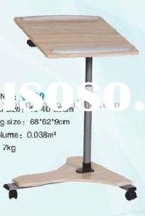 C-50 portable and movable folding swivel laptop stand desk table