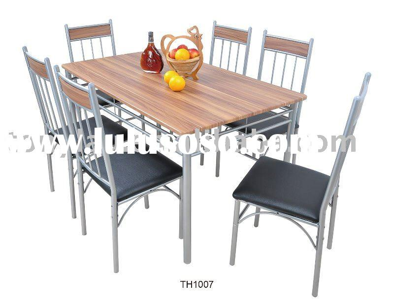 Cheap Price ! Popular Design! Dining Table and Chairs