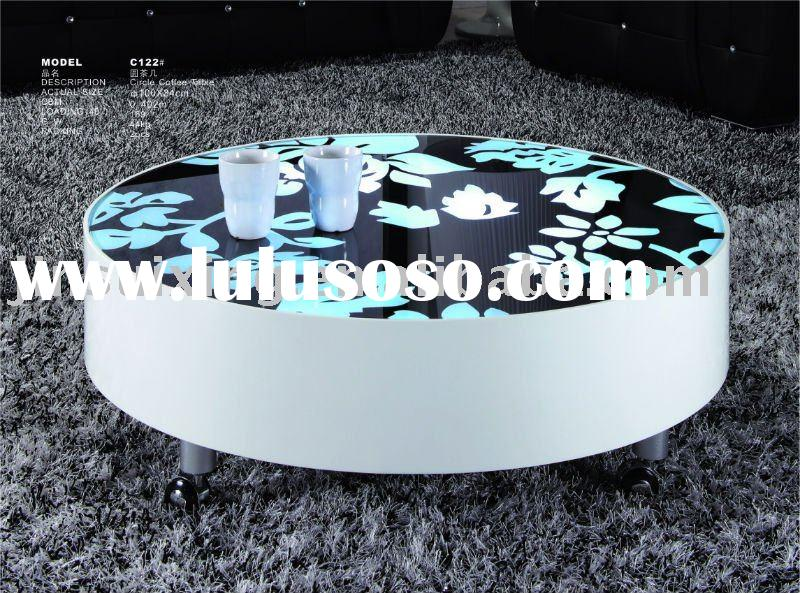 Circular Coffee Table, Round Table  C122#