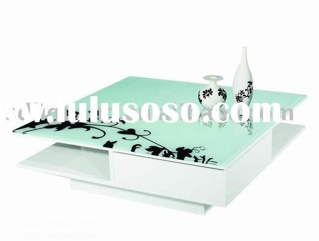 Coffee table in High Gloss White DJ072