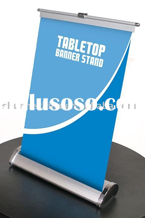 Desktop banner stand,Table banner display,Mini roll up banner(RS11)