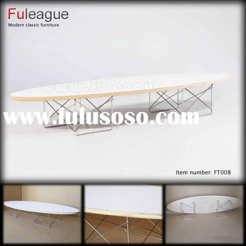 EAMES COFFEE TABLE,Ellipse Table by Charles Eames,DESIGNER TABLE,COFFEE TABLE,LARGE COFFEE TABLE,MOD