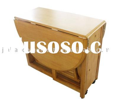 Fold wooden table