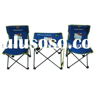 Folding Kids Chair and Table Set