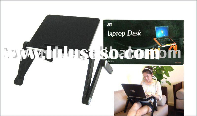 Folding and portable laptop table