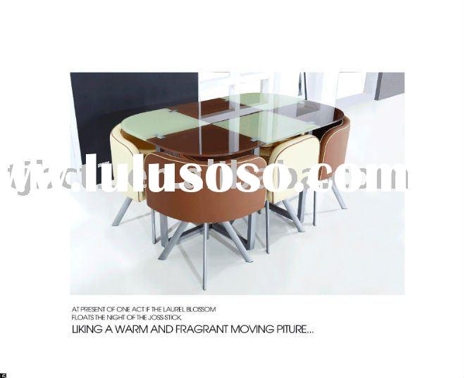 Glass Dining Table and chair