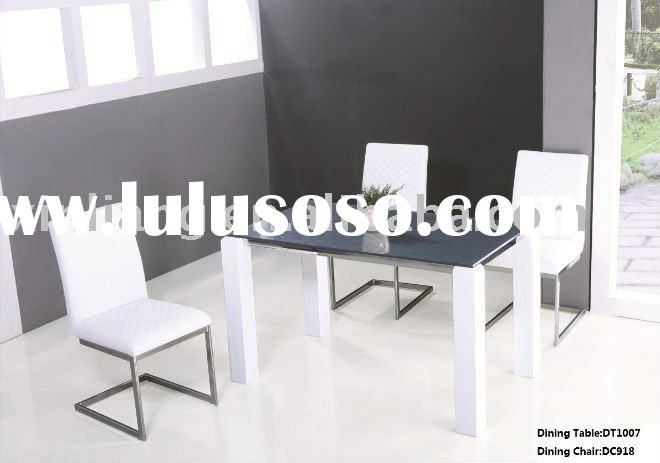 High gloss MDF  Dining Table sets