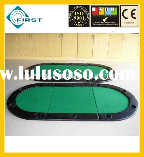 Holdem Oval Folding Poker Table Top