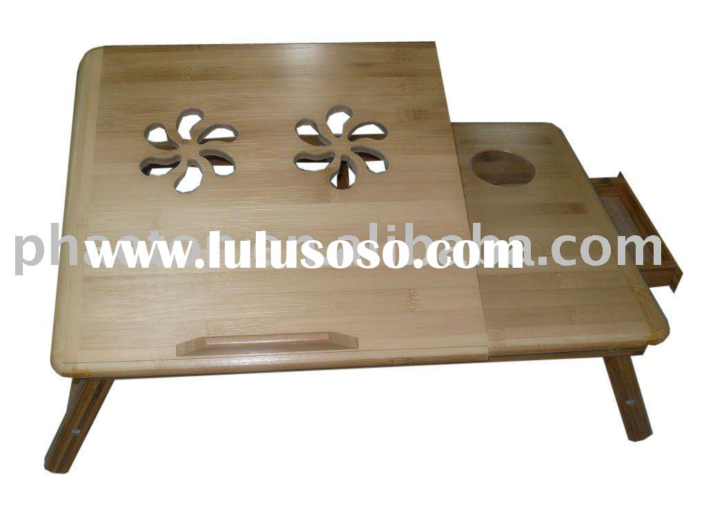 Laptop desk / Laptop table / laptop stand / portable desk/bed table with cooler