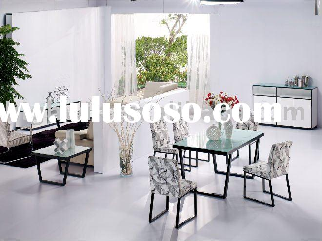 Modern Dining Room Set ( tables& sideboard& TV stand &chairs )