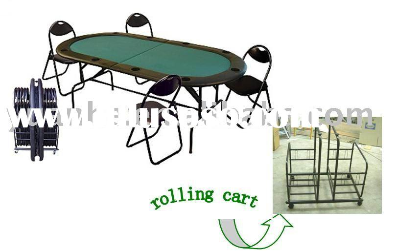 Poker Table and Chairs Set