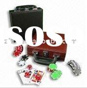 Poker chip sets,Wooden case,Chips,Poker table,Aluminium case,Casino table,Plastic case,Gambling