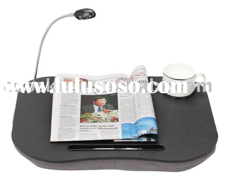 Portable Laptop Table Stand cushion Desk Bed Sofa Tray