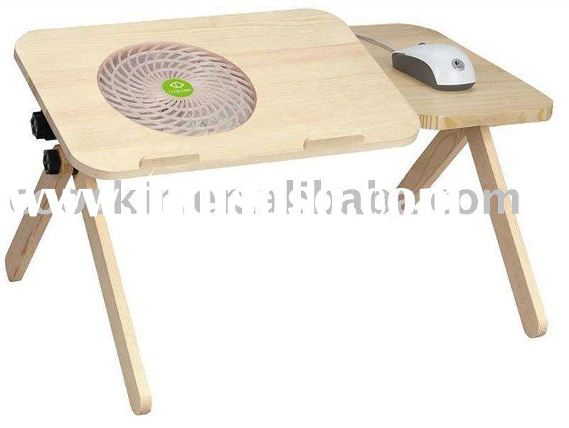 Portable Laptop Table with cooling fan