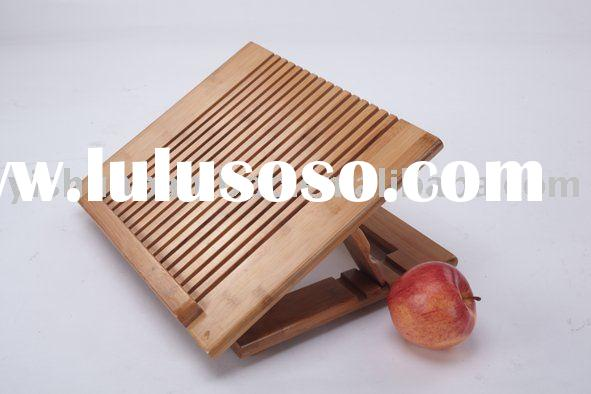 Portable Multi-function Bamboo Laptop Table