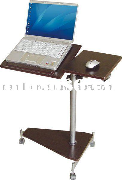 Portable laptop table stand