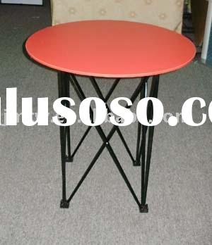 Portable round table