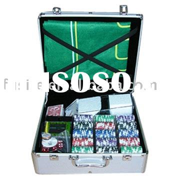 Professional Aluminum 600 Poker Chip Set
