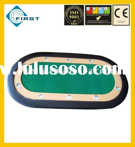 Race Track Oval Poker Table Top