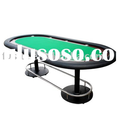 Race Track Oval Poker Tables