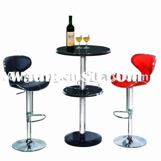 Glass Bar Stools: Tempered Glass Coffee Table Set For Sale