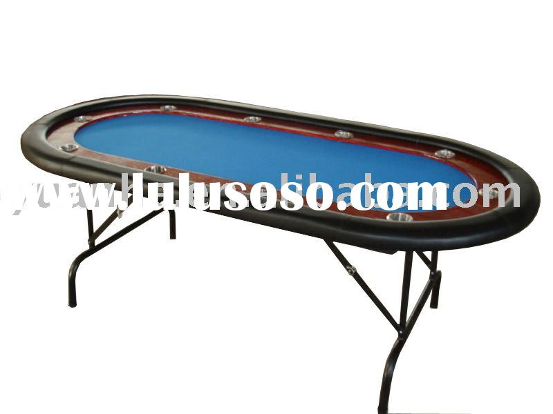 TEXAS HOLDEM POKER TABLE (casino poker table,game table,gambling table, blackjack poker table ,oval/