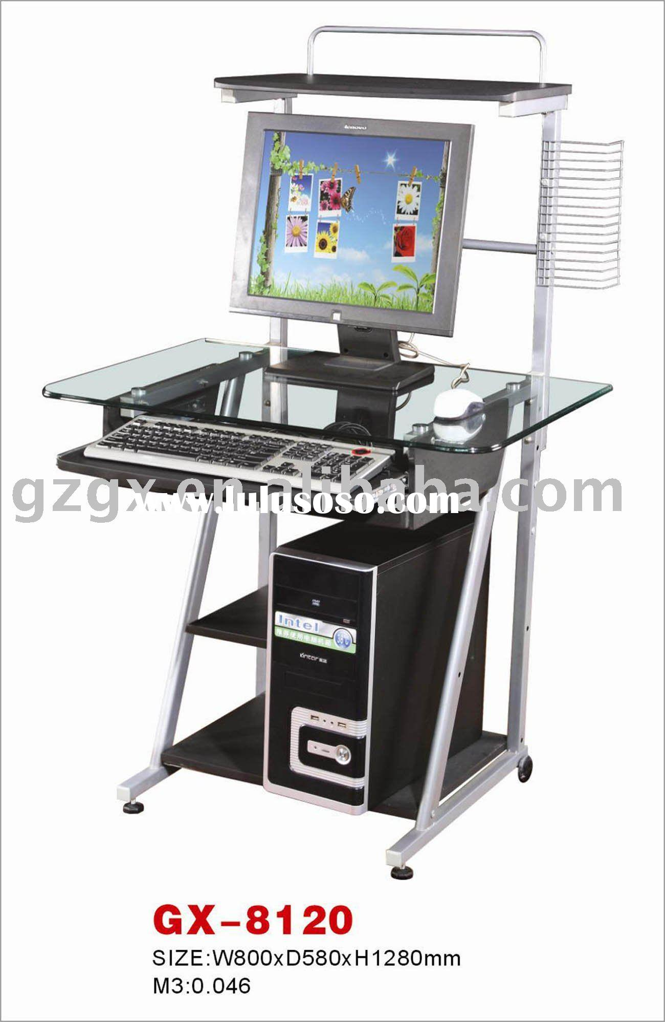 Tempered Glass Computer Table,office furniture
