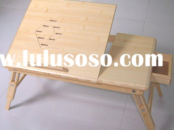 bed wooden computer table