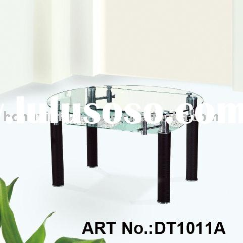 contemporary adjustable dining table