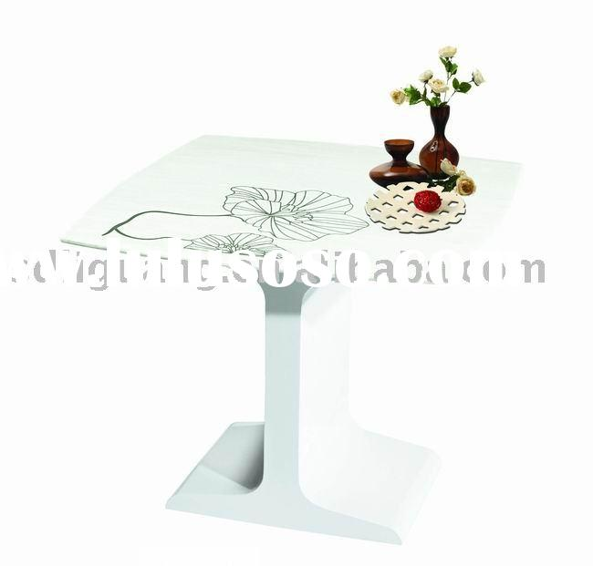 contemporary marble tea table