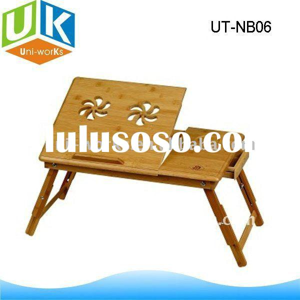 foldable bamboo laptop table