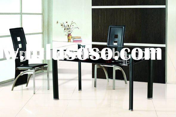glass dining table, dining set